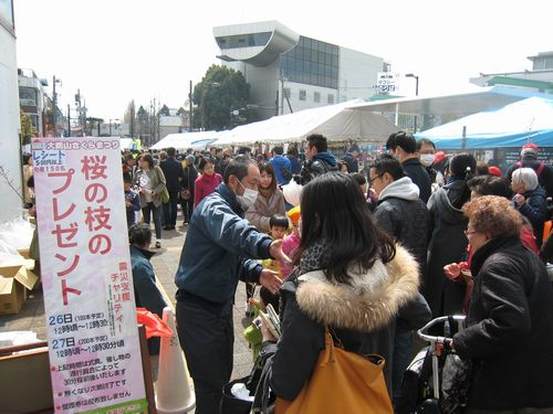 大岡山さくらまつり 3/26(土) 駅前