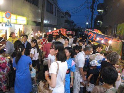 盆踊り大会初日3