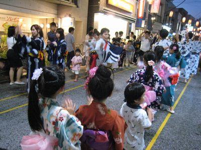 盆踊り大会初日2