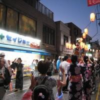 盆踊り大会初日1