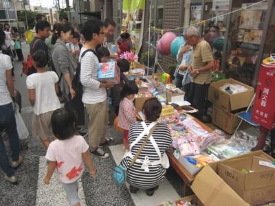 大岡山フェスティバル出店1