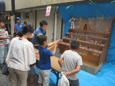 大岡山フェスティバル出店3