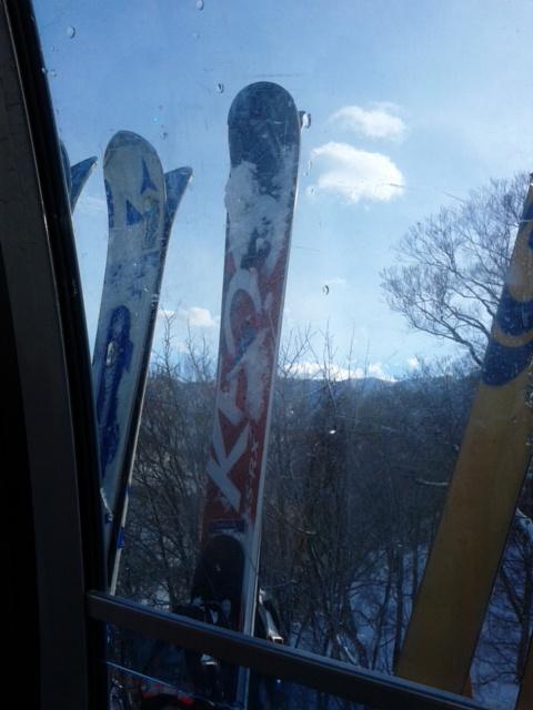 初滑り スキー