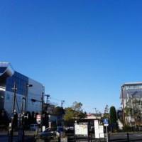 大岡山駅前の空 2018年1月3日
