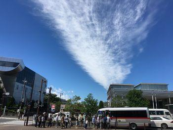 大岡山の空20180817